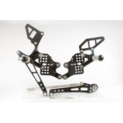 Set de estriberas GSXR 600/750 11-13