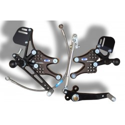 "Set de estriberas cambio ""REVERSE""  STIGGY LIMITED EDITION CBR 600RR 07-13"