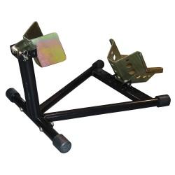 Cuña de rueda auto-ajustable