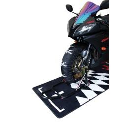 Calentadores de neumáticos para Moto GP digitales