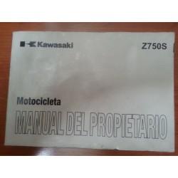 MANUAL DEL PROPIETARIO Z 750S