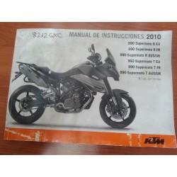MANUAL DEL PROPIETARIO SUPERMOTO 990