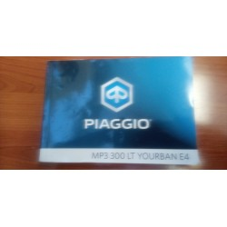 MANUAL USUARIO PIAGGIO MP3 300 LT YOURBAN E4